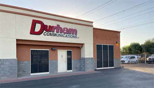 Durham Communications Inc. new headquarters, providing Public Safety Radio Communications Solutions.